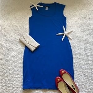 Soft Works Blue Stretchy Dress